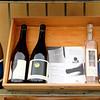 16 Wine display in shop of Montereggioni, Italy