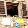 18 Hanging laundry in Castellina, Italy