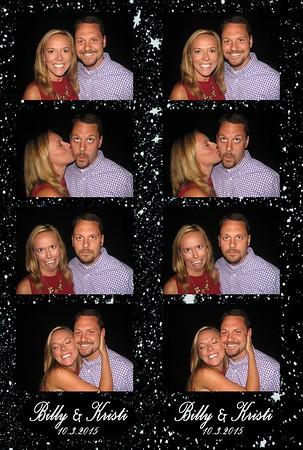 Billy and Kristi's Wedding 10-3-15