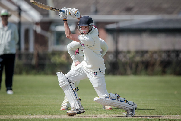 Horsforth Player batting