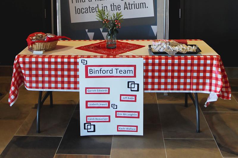 All Staff Meeting, Binford Open House, June 6, 2018