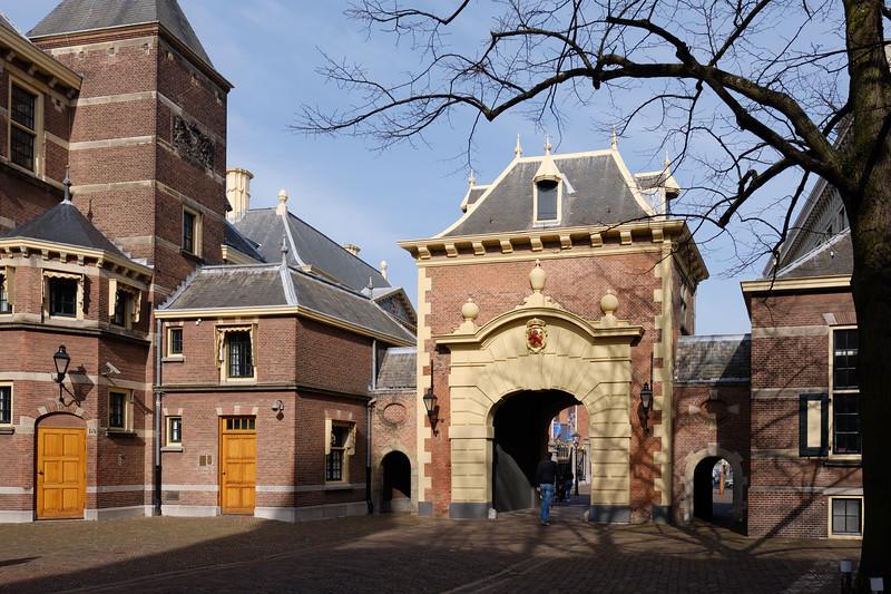 Mauritspoort - Binnenhof.