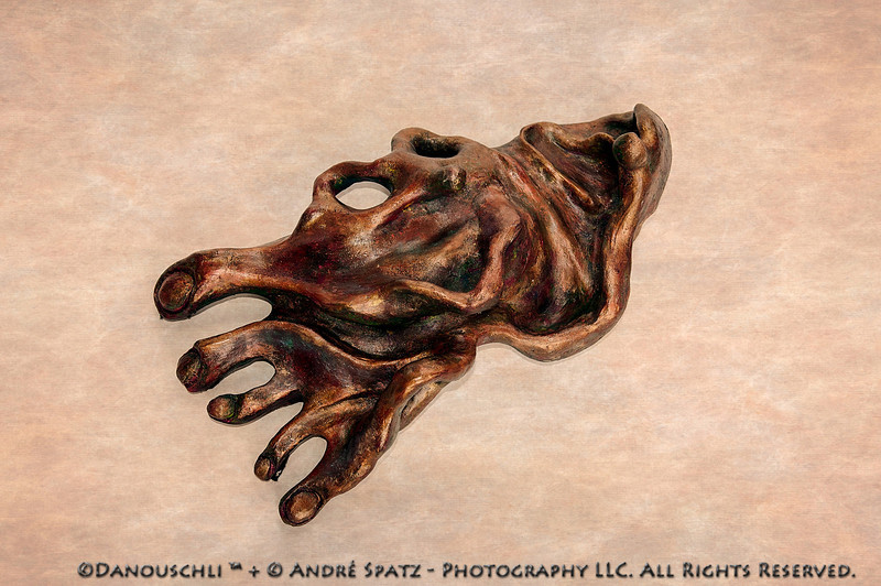 © Danouschli™  :  my right foot:) -clay sculpture, approx. 16 inches.