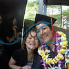 My daughter and I after my graduation. (Dad and brother in the background)