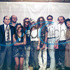 """Me in the early 1990's with others in the music business and the band """"Stryper"""" in Seattle."""