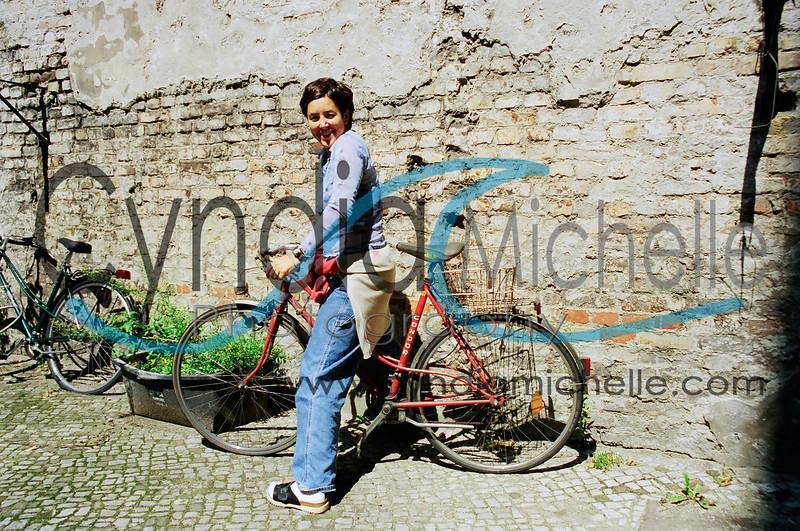 In Berlin riding the best bike!