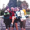 Cycling in Seattle with friends, ca. 1997