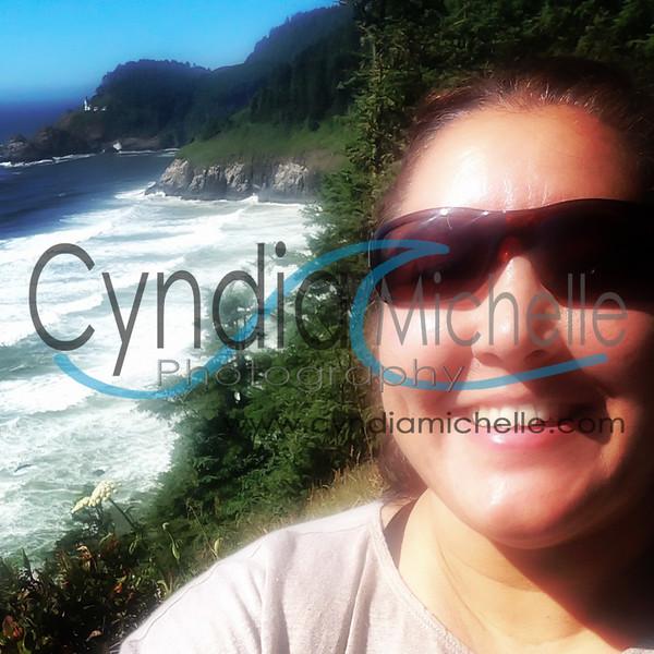 Self-portrait on the Oregon coast, July 2014.