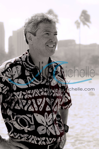 Stefan Reinke, Ala Moana Beach Park on April 15, 2014; Hawaii Sport magazine May/ June 2014