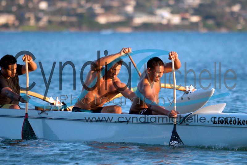 Men from the Hui Nalu Canoe Club are training for the Kala Kukea Ironman Challenge on April 27, 2013, which is in memory Vietnam Veteran and Honolulu Fire Department Captain Kala Kukea, who passed away unexpectedly in 1996.