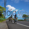 "Cyclists riding through Noth Shore Oahu during the Dick Evans Memorial Bike Race on September 1, 2013. Published Nov/Dec 2103, ""Hawaii Sport"""