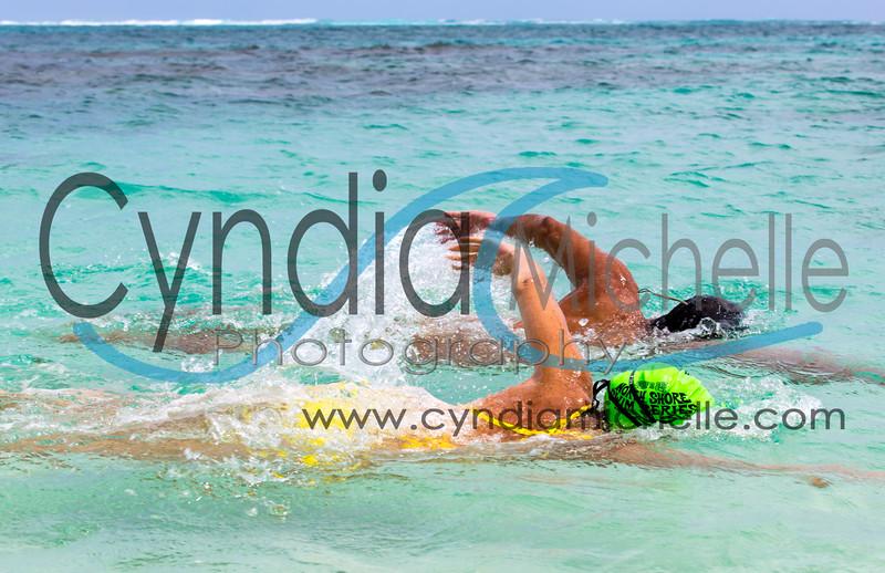 Joanna Rhinehart & Kelly Tam-Sing on the eastern shores of Oahu, Hawaii, April 14, 2014