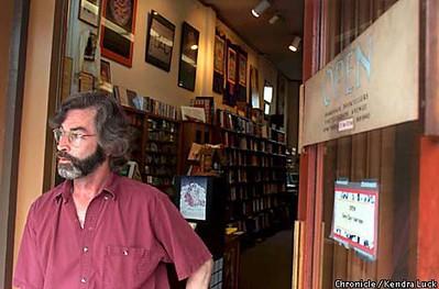 Phillip Barry, Mgr, Shambhala Booksellers, Telegraph Avenue, Berkeley