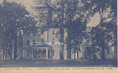 Center Hall, Wabash College, Crawfordsville