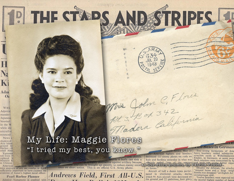 Front cover of Maggie Flores' book
