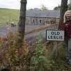 My maiden name is Leslie, this is up the road from Leslie Castle, Scotland