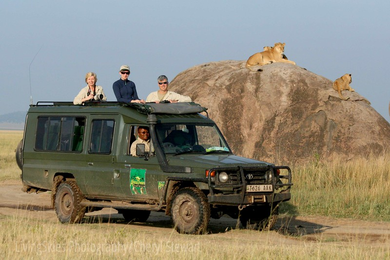 my family in the Serengeti, with Africa Dream Safari, THE best safari company in Tanzania!