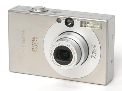 I bought my wife an IXUS 70 for when I took the A610 away on work trips. It was a good solid camera that took some nice happy snaps.