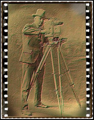 movie camera man