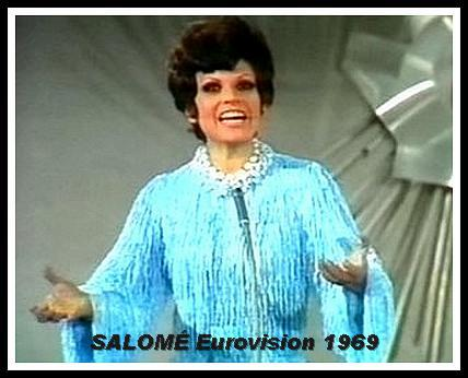 Salomé in 1969 Eurovision