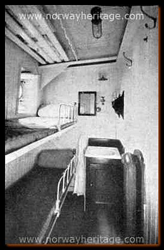 two berth cabin