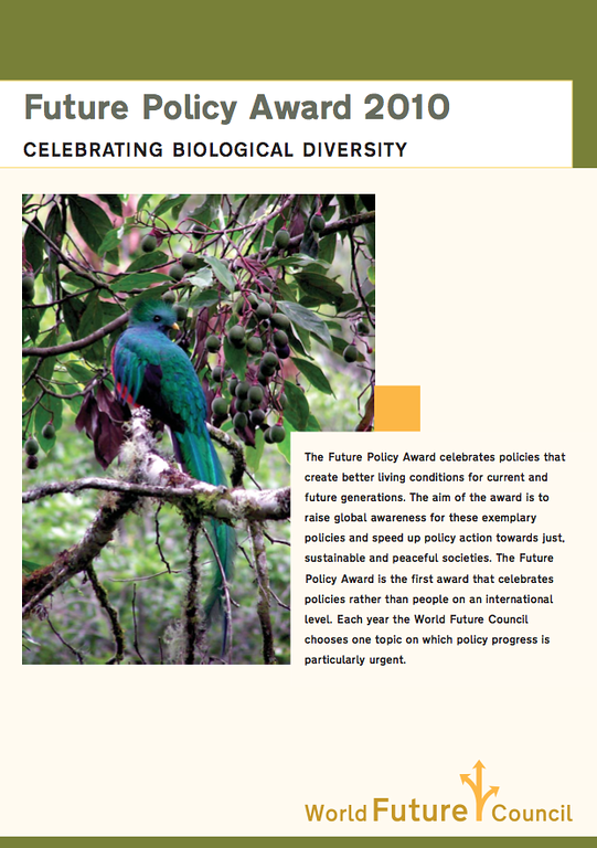 This is a snap shot of the cover page of the World Future Council booklet celebrating Costa Rica's Biodiversity Award.  The next three smugmug pics are the remainder of the booklet.  Read more about Costa Rica's efforts to preserve the environment.  QERC contributes to a better understanding of the rich biodiversity in Costa Rica and conducts research into the effects of human influence on the rain forest in the San Gerardo de Dota valley.