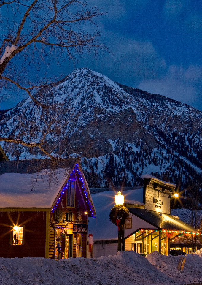 Crested Butte Christmas Card