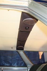 Speaker bar side view