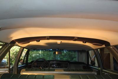 Speaker bar rear view