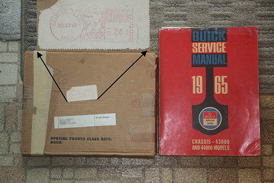 Biquette's Chassis Service manual bought in 1968