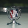 Installed hood ornament - front