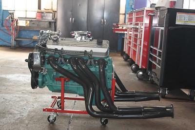 Engine port side