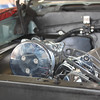 A/C compressor rotated 90˚