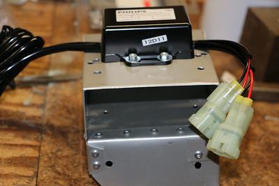 Daytime running light controller installed