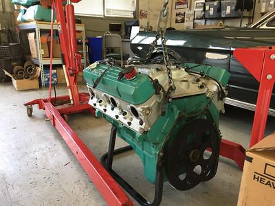 Biquette's engine - port rear