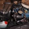 Biquette engine compartment port front side