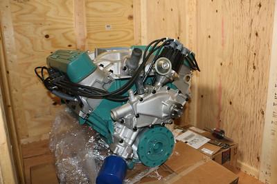 Biquette's engine - front view