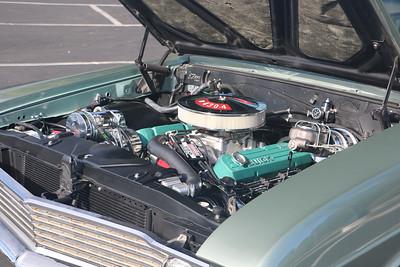 Biquette's engine - port front