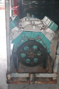 Biquette's engine at Orinda Motors - back