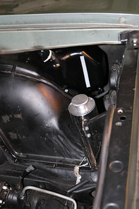 Coolant recover tank and windshield washer tank