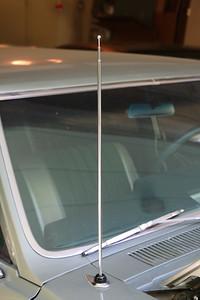 Fusick radio antenna installed