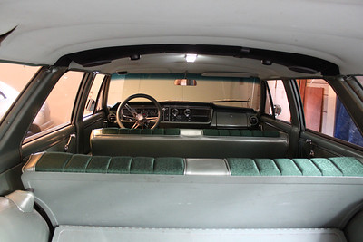 Interior view - 2 LED array