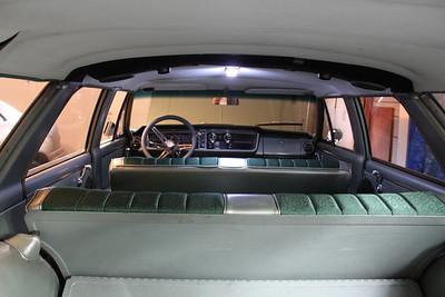 Interior view - 16 LED array