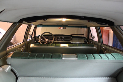 Interior view - 12 LED array