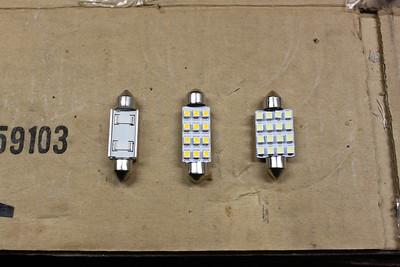 Three LED array models