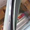 New tailgate window channel seal