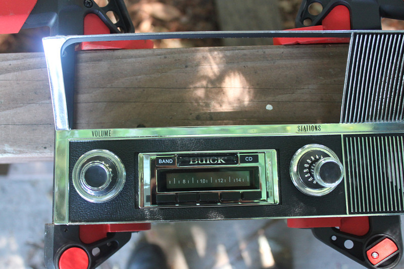 Custom autosound 630 in radio bezel
