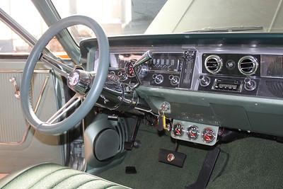 Instrument cluster after modification - passenger side