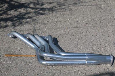 Biquette's port exhaust header