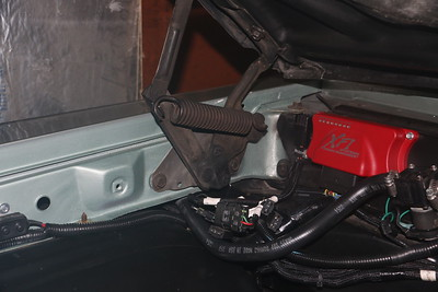 Mounting points on inside of fender - starboard